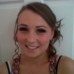 Abbie Howard - Prom make-up