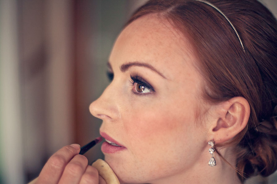 Make-up by Tina Brocklebank, Photography by James Green
