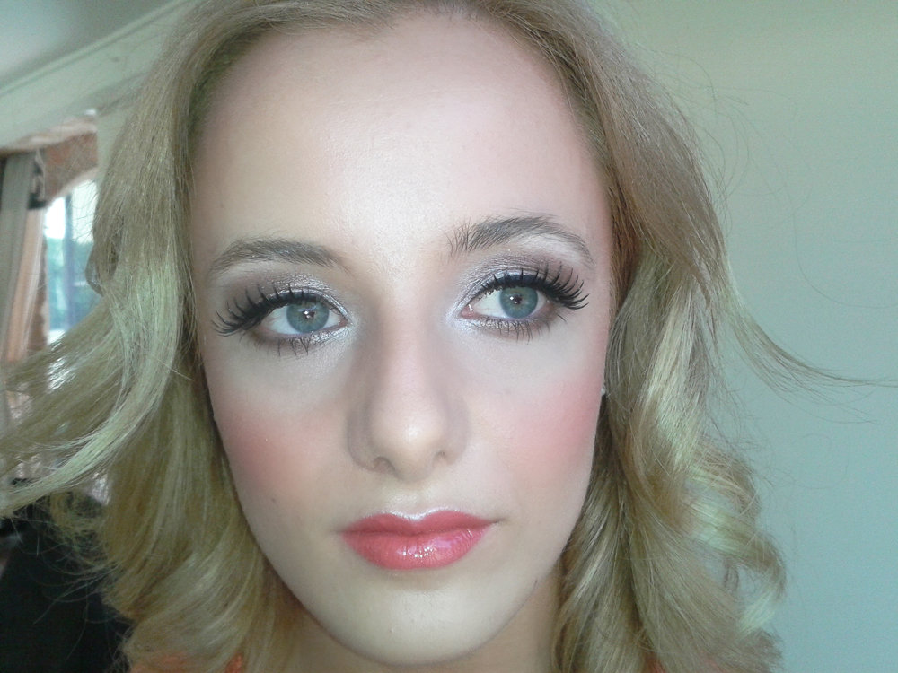 Make-up by Tina Brocklebank using Bobbi Brown, Becca, Mac and Fardel. This was for a photographic shoot for Elsham hall.