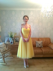 Alisha - Prom dress by Joanna Leigh couture.