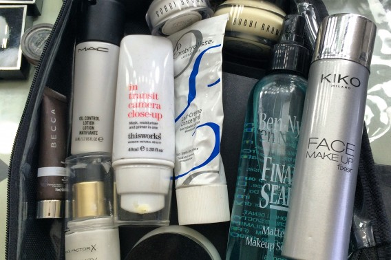 Tina's makeup kit - Primers, etc.