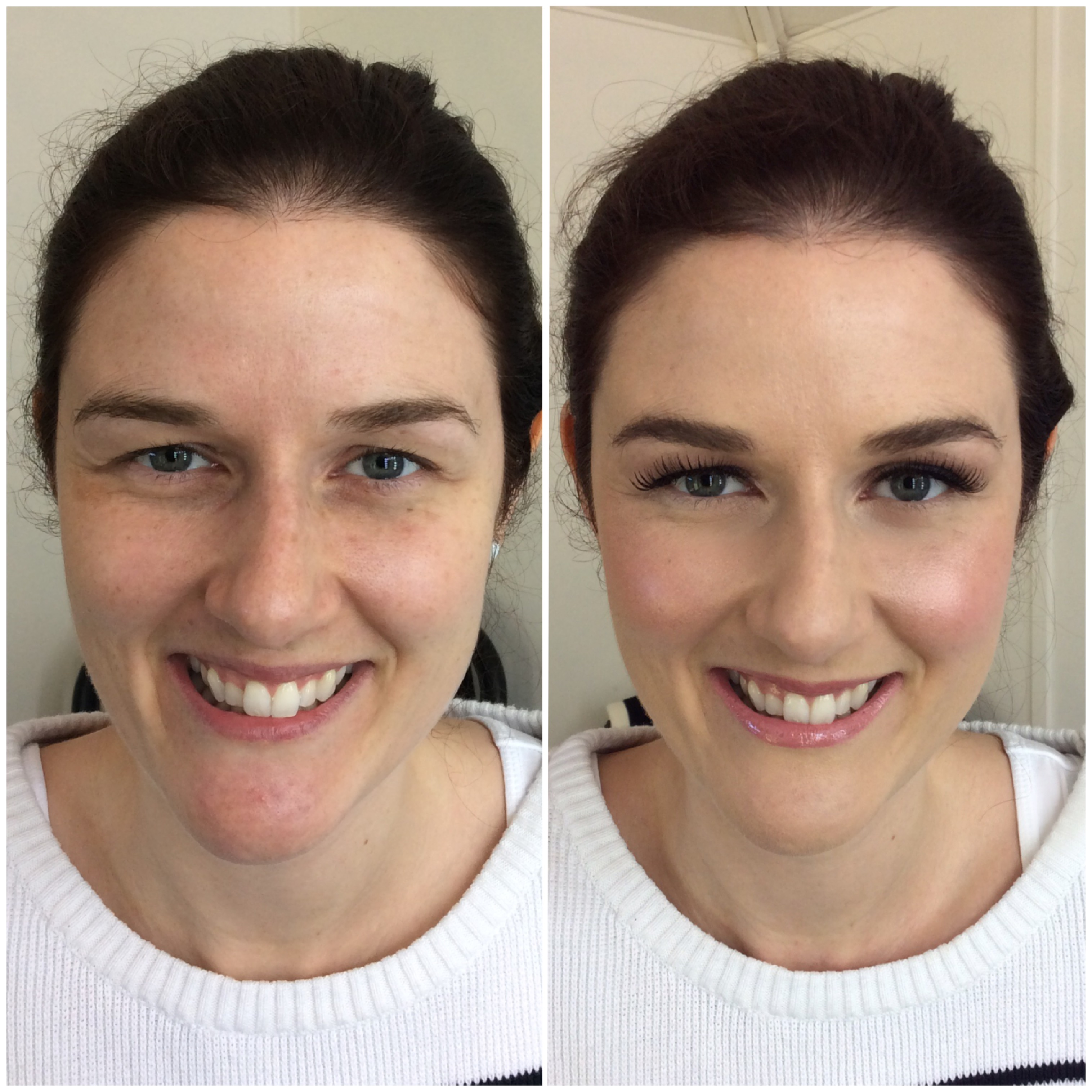 Lauras' bridal make-up trial