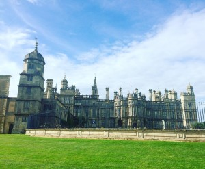 Burghley house, Stamford.