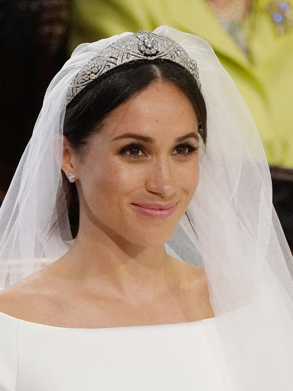 Meghan Markle bridal makeup.