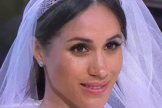 Meghan Markle's bridal make-up - understated, natural, classic and minimal.