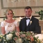 Mr and Mrs Cook @ The Orangery, Settrington.