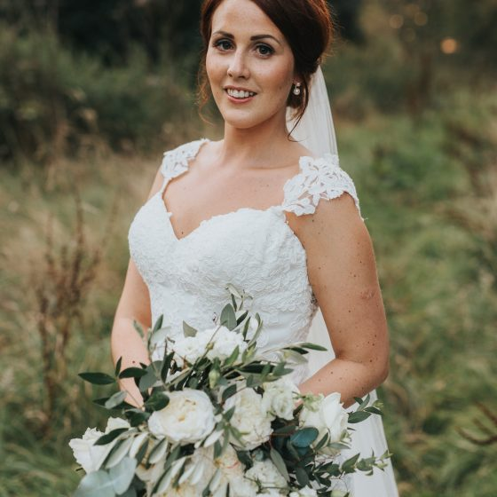 Bridal make-up - Lucy. Photo by Henry Lowther.