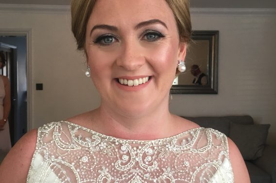 The gorgeous Lindsey. Make-up by Tina Brocklebank.