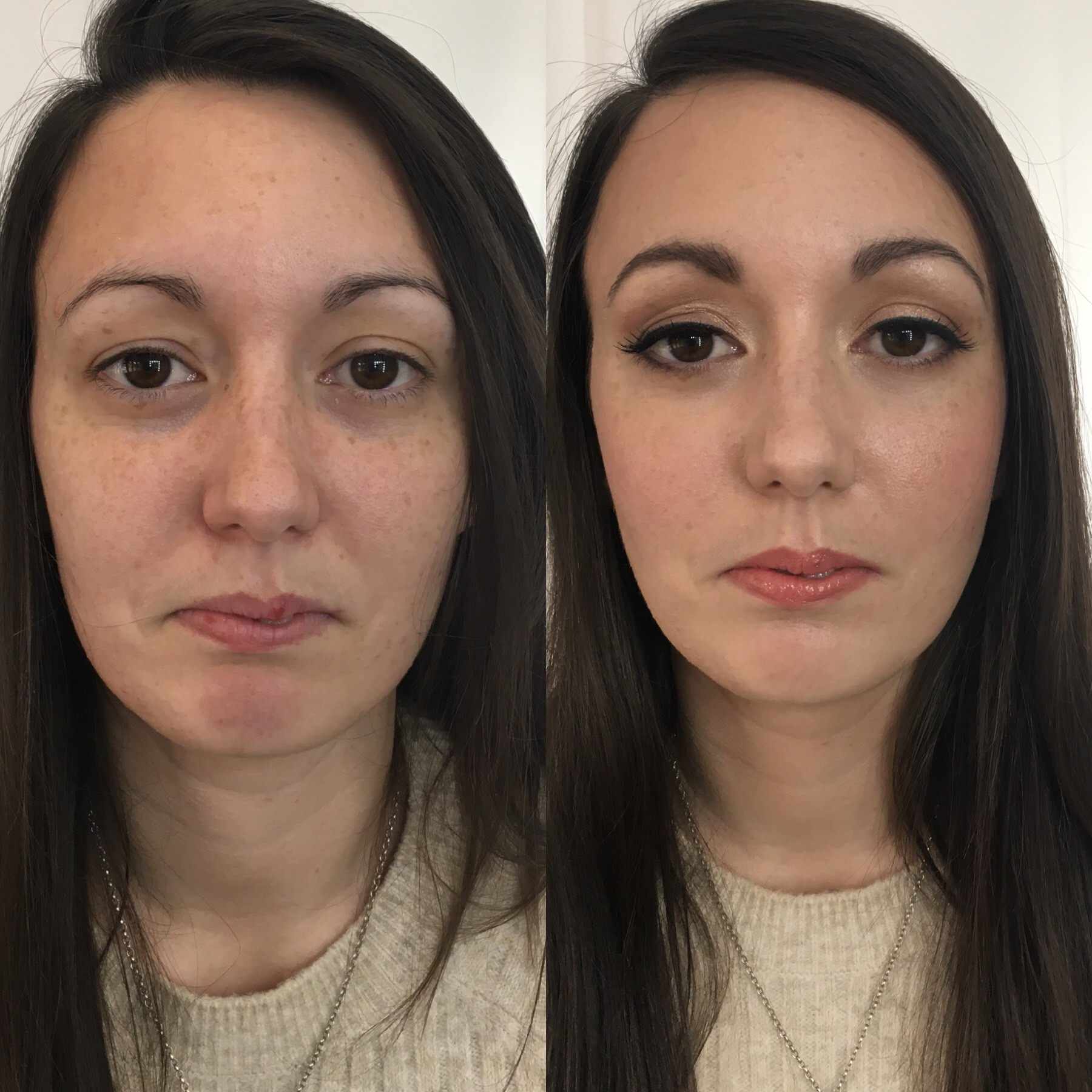 Susana visited me for a makeup lesson. She doesn't wear much makeup and leads a very busy life, but wanted to be shown what products to use to make her look more polished for everyday. I also showed her how to apply some false lashes for an evening look. She loved it!