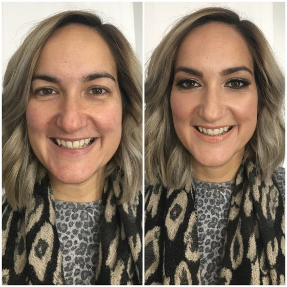 Sian visited me recently for her birthday, for a makeup lesson, we tried out 2 looks.