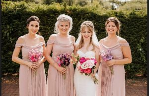 Dani and Bridesmaids.