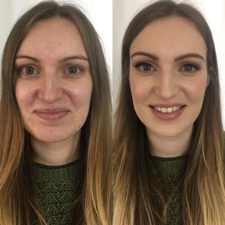 Hayley's Bridal makeup trial. She wanted a very natural look. I used mainly Charlotte Tilbury.