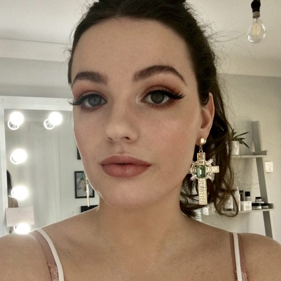 Beautiful Mia - I used the new Charlotte Tilbury Pillow talk palette and lipstick here.