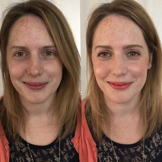 Jessica visited me for a makeup lesson - I showed her a day look and then how to add elements to brighten her look.