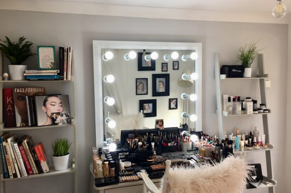 Tina Brocklebank Makeup studio.